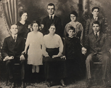 The Family of Louis and  Julia LaForest